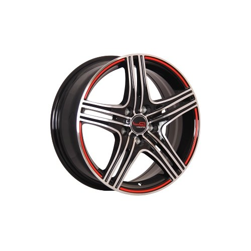 Фото - Колесный диск LegeArtis GM526 6.5x15/5x105 D56.6 ET39 BKFRS колесный диск legeartis gm502 6 5x16 5x105 d56 6 et39 silver