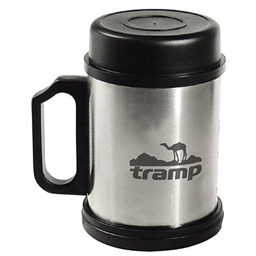 Термокружка Tramp TRC-006, 0.3 л серебристый/черный