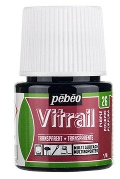 Краски Pebeo Vitrail Пурпурный 050026 1 цв. (45 мл.)