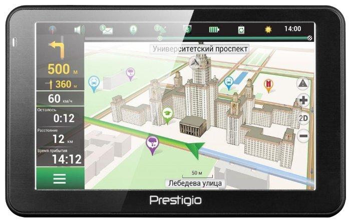 Prestigio Навигатор с радар-детектором Prestigio GeoVision 5066 Navitel
