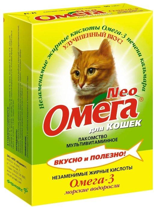 Добавка в корм Омега Neo для кошек с морскими водорослями