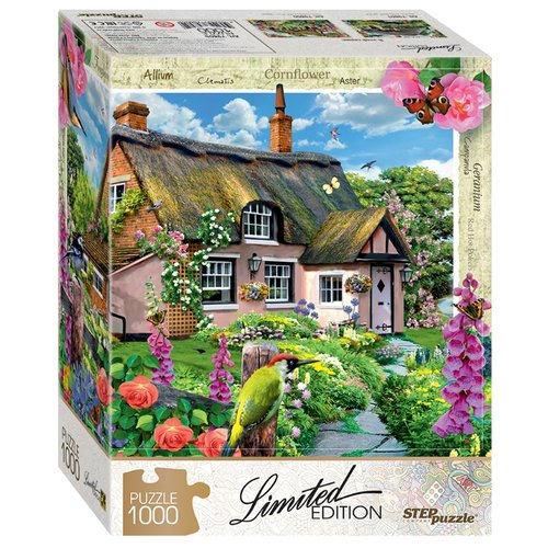 Купить Пазл Step puzzle Limited Edition Розовый коттедж (79805), 1000 дет., Пазлы