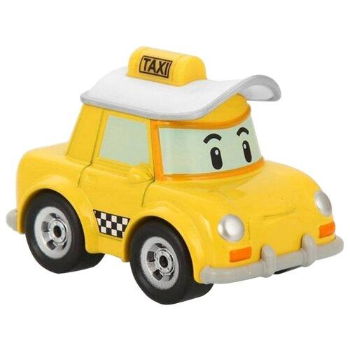 Купить Легковой автомобиль Silverlit Робокар Поли Кэп (83175) 6 см желтый/белый, Машинки и техника