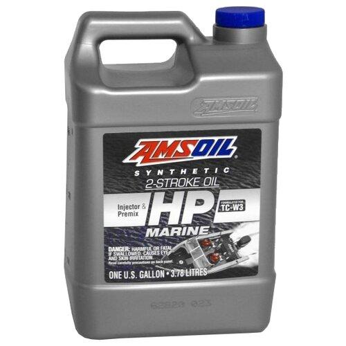 Фото - Синтетическое моторное масло AMSOIL HP Marine Synthetic 2-Stroke Oil, 3.785 л синтетическое моторное масло amsoil synthetic 2 stroke injector oil 3 78 л