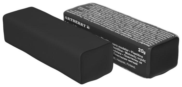 Пластилин ErichKrause Artberry черный 20 г (37285)