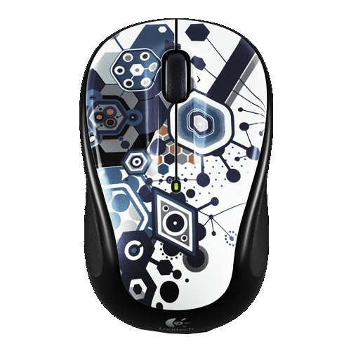 Мышь Logitech Wireless Mouse M325 Fusion Party Silver-Black USB
