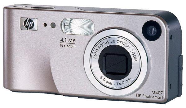 Фотоаппарат HP Photosmart M407