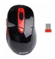 Мышь A4Tech G11-570FX Black-Red USB