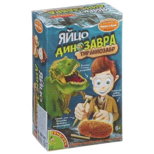 Купить Набор для раскопок BONDIBON Яйцо динозавра. Тираннозавр (ВВ1357), Наборы для исследований