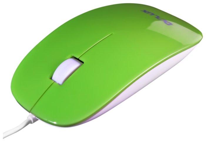 Мышь Delux DLM-111 Green USB