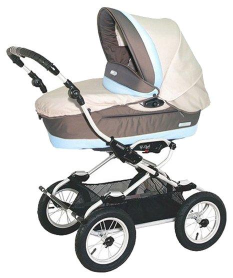 Коляска для новорожденных Bebecar Style AT (люлька)