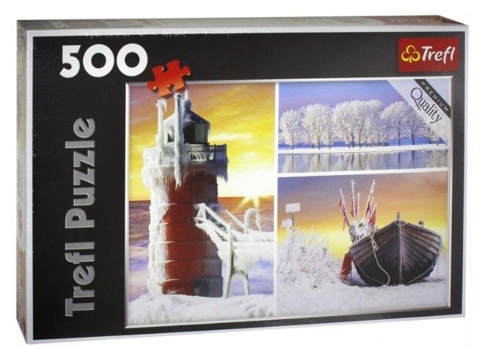 Пазл Trefl Зима (37242), 500 дет.