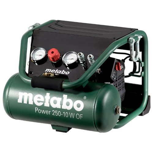 цена на Компрессор безмасляный Metabo Power 250-10 W OF, 10 л, 1.5 кВт