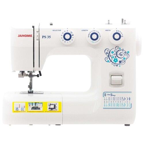 Швейная машина Janome PS 35 швейная машинка janome ps 15