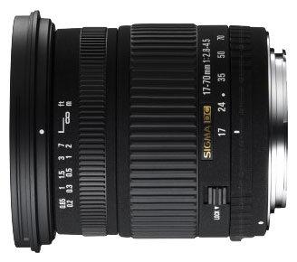 Объектив Sigma AF 17-70mm f/2.8-4.5 DC MACRO Nikon F