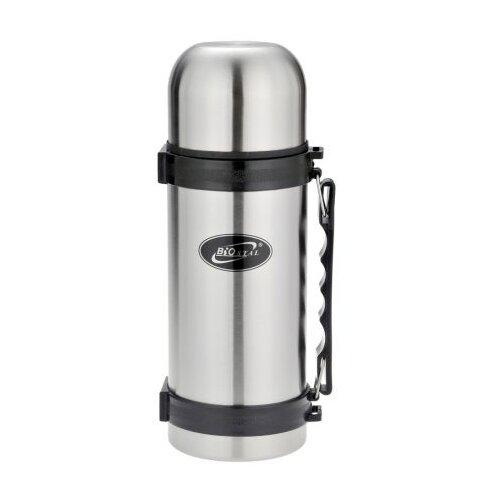 Классический термос Biostal NY-1200-2, 1.2 л серебристый