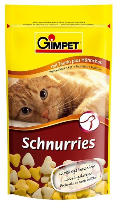Витамины GimPet Schnurries с таурином и курицей,