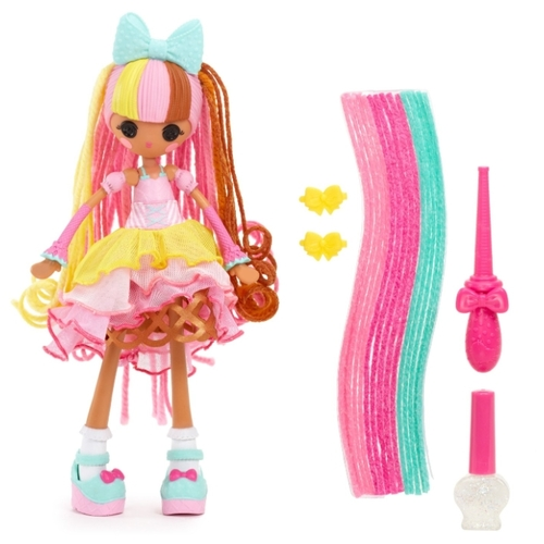 Кукла Lalaloopsy Girls Crazy Hair Вафелька 25 см 537274