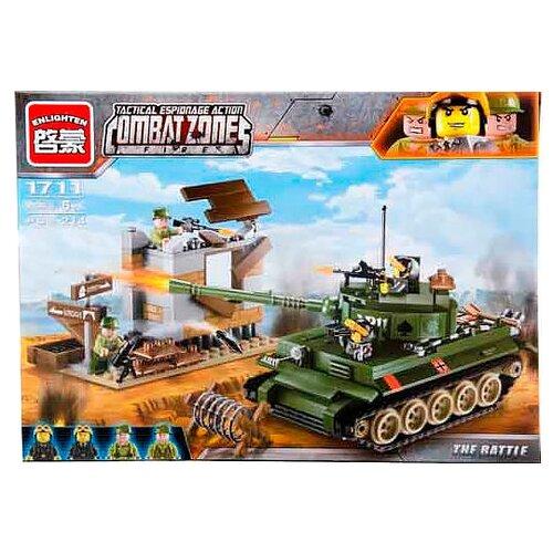 Купить Конструктор Qman CombatZones 1711 Танк, Конструкторы