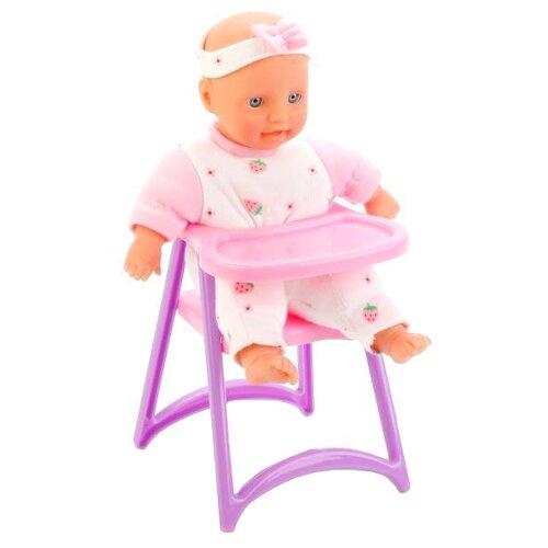 Купить Малыш со столиком для кормления 5089, DEFA, Куклы и пупсы