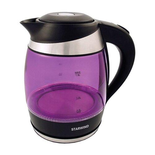 Чайник STARWIND SKG2217, фиолетовый чайник электрический starwind skg2217 2200вт фиолетовый и черный