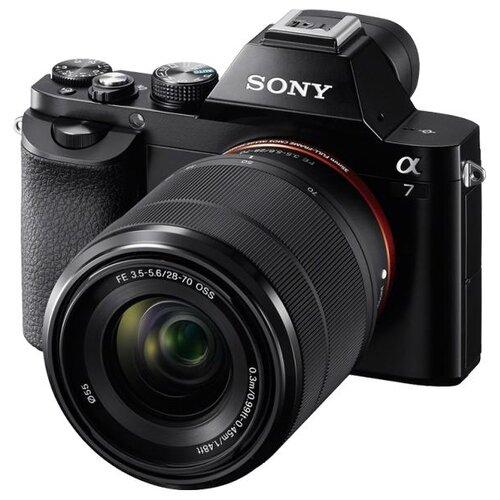 Купить Фотоаппарат Sony Alpha ILCE-7 Kit черный FE 28-70mm f/3.5-5.6 OSS