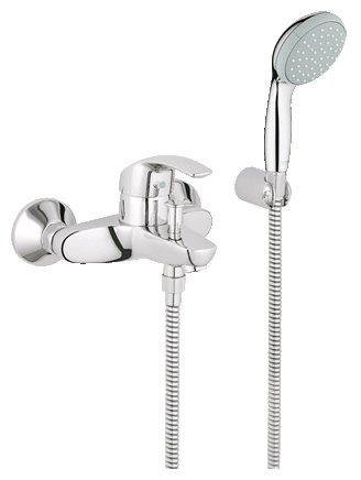 Однорычажный смеситель для ванны с душем Grohe Eurosmart 33302001