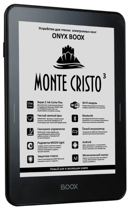 ONYX Электронная книга ONYX BOOX Monte Cristo 3