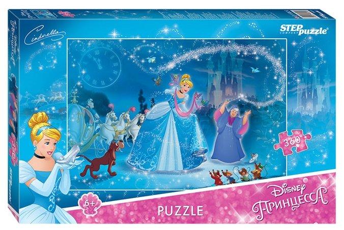 Пазл Step puzzle Disney Золушка - 2 (96055), 360 дет.