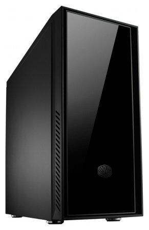 Компьютерный корпус Cooler Master Silencio 550 w/o PSU Black