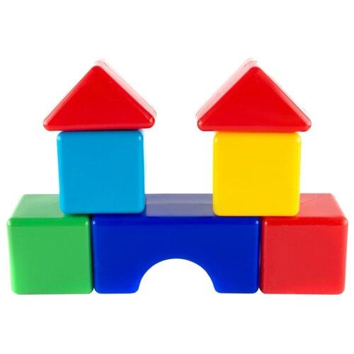 Кубики Пластмастер Стройка 14023 кубики пластмастер набор 14047