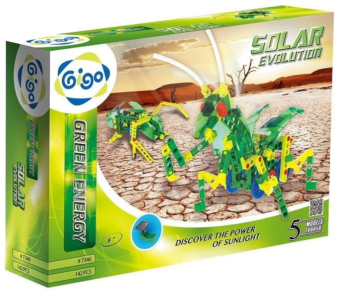 Электромеханический конструктор Gigo Green Energy 7346 Солнечная эволюция
