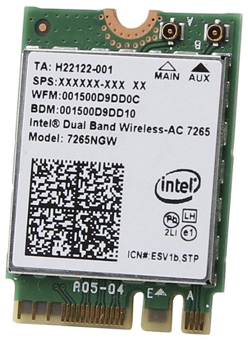Bluetooth+Wi-Fi адаптер Intel 7265NGW.AC