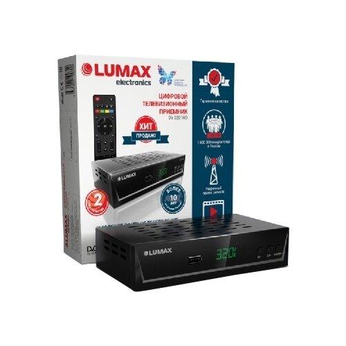 Фото - TV-тюнер LUMAX DV-3201HD tv тюнер lumax dvbt2 555hd черный