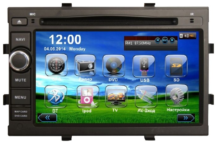 Daystar DS-7105HD ANDROID (2012)