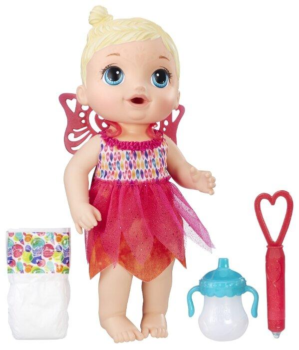 Интерактивная кукла Hasbro Baby Alive Малышка-фея, B9723
