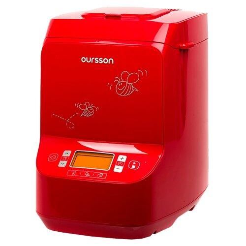Хлебопечка Oursson BM1020JY/BM1021JY красный