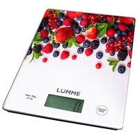 Кухонные электронные весы Lumme LU-1340 (апельсиновый фреш)