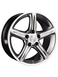 Колесный диск Racing Wheels H-166 7.5x16 5x120 ET15 74.1 Chrome - фото 1