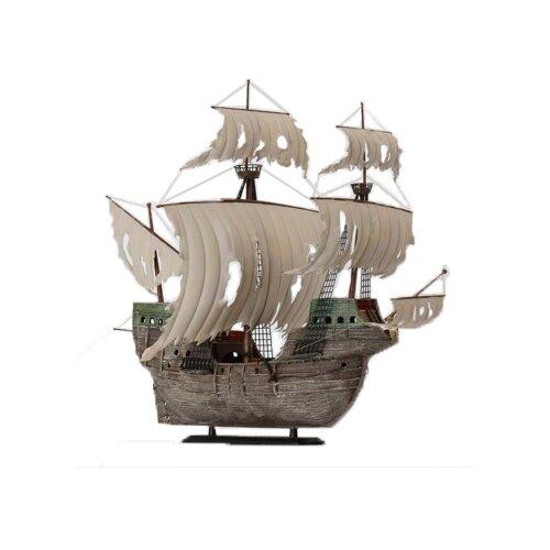 Купить Сборная модель ZVEZDA Корабль-призрак Летучий голландец (9042) 1:100, Сборные модели