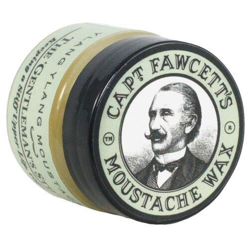 Captain Fawcett Воск для усов Ylang Ylang Moustache Wax, 15 мл