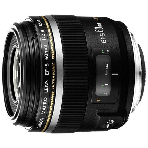 Объектив Canon EF-S 60mm f/2.8 Macro USM черный
