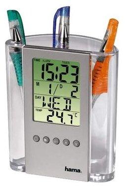 Термометр HAMA LCD Thermometer & Pen Holder (075299)