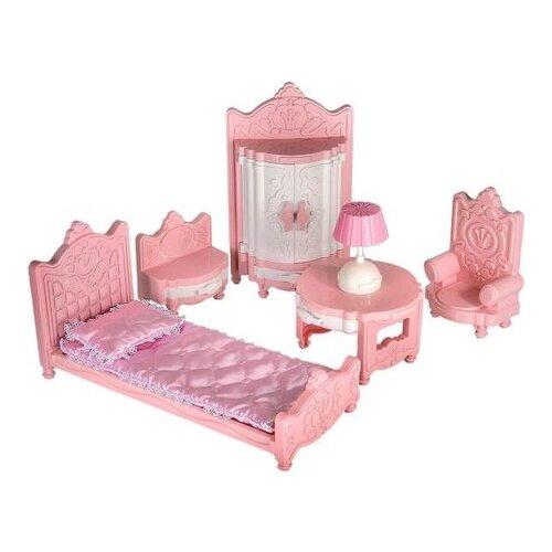 Купить Форма Гарнитур Сонечка Для любимой куклы (С-127-Ф) розовый, Мебель для кукол