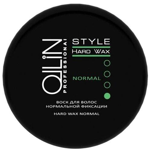 OLLIN Professional Воск Style Hard Wax Normal, слабая фиксация, 50 г цена 2017