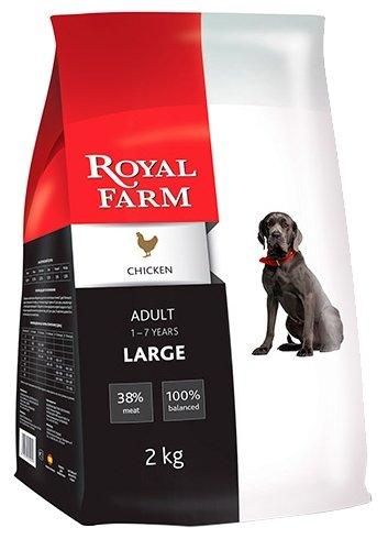 Корм для собак Royal Farm Сухой корм для собак Adult Large Chicken