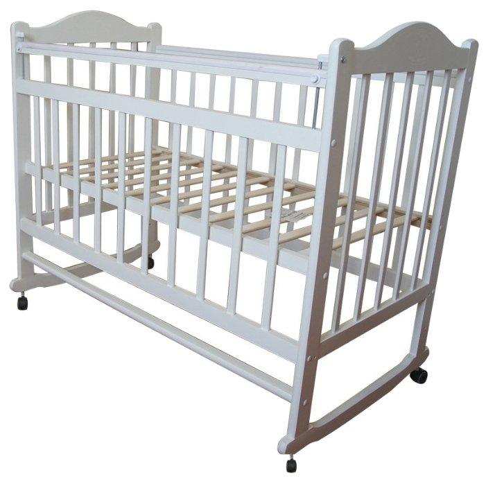 Кроватка Мой малыш 1 (колесо-качалка)