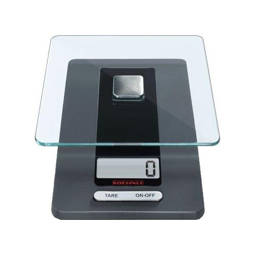 Кухонные весы Soehnle 65106 Fiesta черный/прозрачный весы soehnle genio green 66228