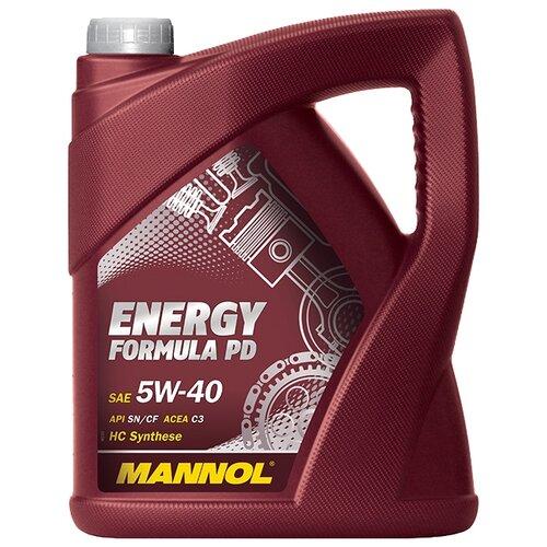 Моторное масло Mannol Energy Formula PD 5W-40 5 л моторное масло mannol energy formula pd 5w 40 1 л