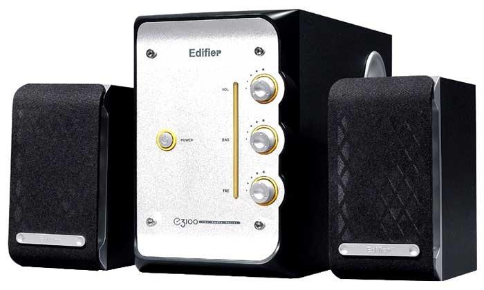 Сравнение с колонки Edifier E3100